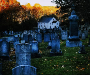 Gayla Braley's photo of the cemetery at the German Protestant Church in Waldoboro received the most votes to win the November #LCNme365 photo contest. Braley will receive a $50 gift certificate to Renys courtesy of Damariscotta Bank & Trust, the sponsor of the November photo contest.