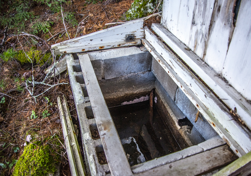 """The Weston Memorial Spring was a source of """"crystal-clear water"""" in the 1940s, but the water and the ground around it had become contaminated by the 1960s. (Bisi Cameron Yee photo)"""