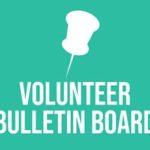 Volunteer Bulletin Board