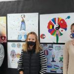 Lions Club Celebrates NCS Lions' Art