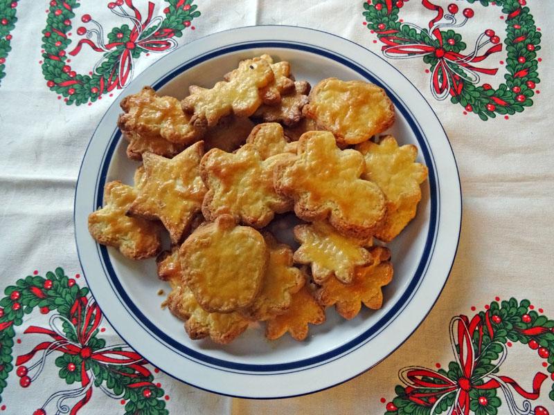 Zenta's Latvian butter cookies. (Photo courtesy I. Winicov Harrington)