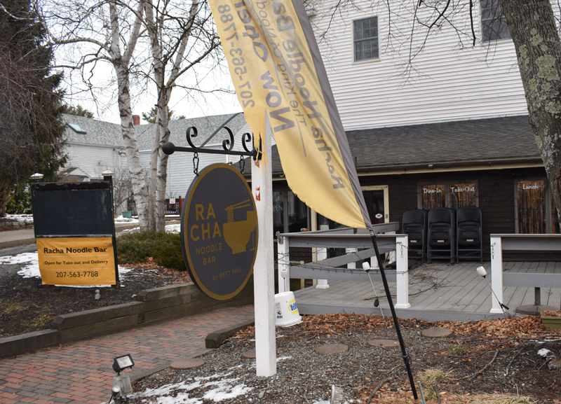 Best Thai will soon move into the Racha Noodle Bar space at 88 Main St. in downtown Damariscotta. (Evan Houk photo)