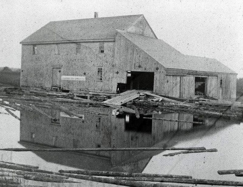 Pemaquid mill, 1896.