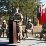 Pitcher Takes Command of Battalion