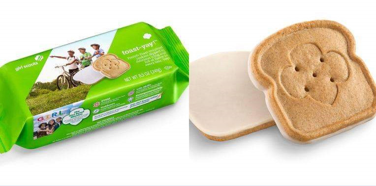 The Girl Scouts of Maine have a new cookie this year, the toast-yay!