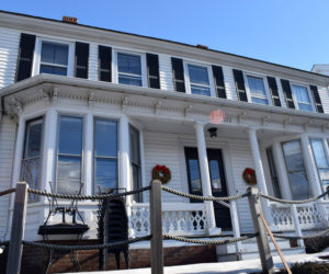 The building at 212 Main St. in Damariscotta on Wednesday, Feb. 24. The owners of Barn Door Baking Co. plan to open a breakfast and lunch restaurant in the building. (Evan Houk photo)