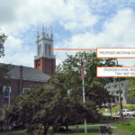 Verizon Proposes Antennas in Bell Tower of Second Congregational Church
