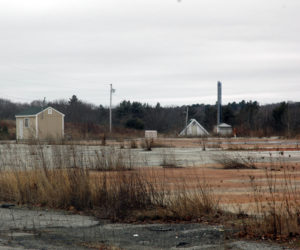 The former Sylvania property on Friendship Road in Waldoboro. (LCN file photo)