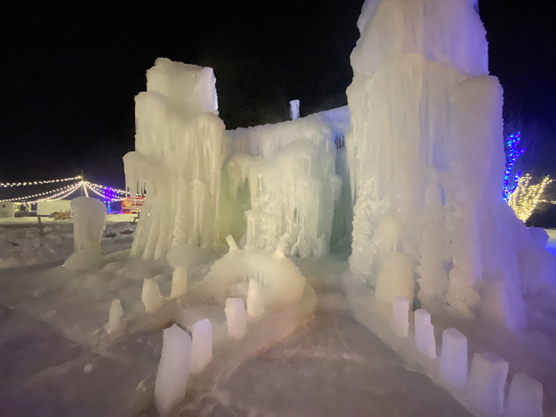 The Boothbay Ice Palace. (Photo courtesy Lester Spear)
