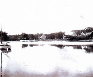A view of the Damariscotta River near the home of Dr. Winslow. (Photo courtesy Newcastle Historical Society Museum)
