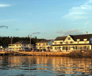 The Ocean Point Inn and Resort in East Boothbay.