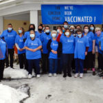 The Lincoln Home Celebrates After Receiving Vaccines