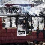 Fire Destroys Waldoboro Garage, No Injuries