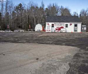 Delano Seafood Market in Waldoboro plans to build an addition onto the left side of the building, toward the picnic tables. The addition will allow the market to expand its retail space, while a new deck at the back of the building will expand seating for the Delano Seafood Shack. (Bisi Cameron Yee photo, LCN file)