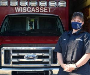 Wiscasset Ambulance Service Director Erin Bean. (Hailey Bryant photo)