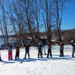Wiscasset Students Receive Snowshoes