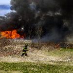 Trainees Gain Experience with Nobleboro Barn Burn