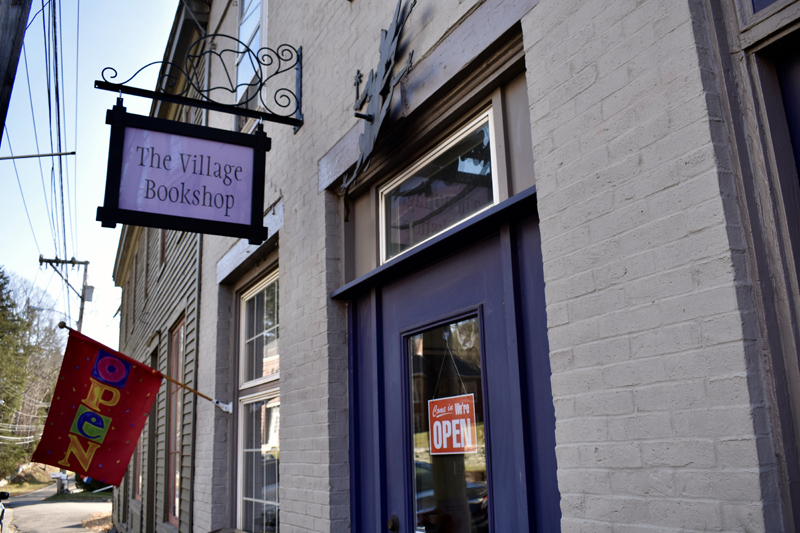 The Village Bookshop in Waldoboro will reopen Tuesday, April 13.