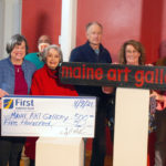 First National Bank Sponsors Maine Art Gallery's Plein Air Event