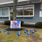 Healthy Kids Plants Pinwheel Gardens for Child Abuse Prevention Month