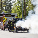 Trash Combusts En Route to Waldoboro Transfer Station