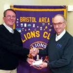 Bristol Lions Learn About Pemaquid Falls Park Plans