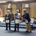 Alna-Anchor Lodge No. 43 Awards 50-Year Medal