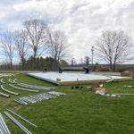 Lincoln Academy and Heartwood Theater Construct Outdoor Pavilion