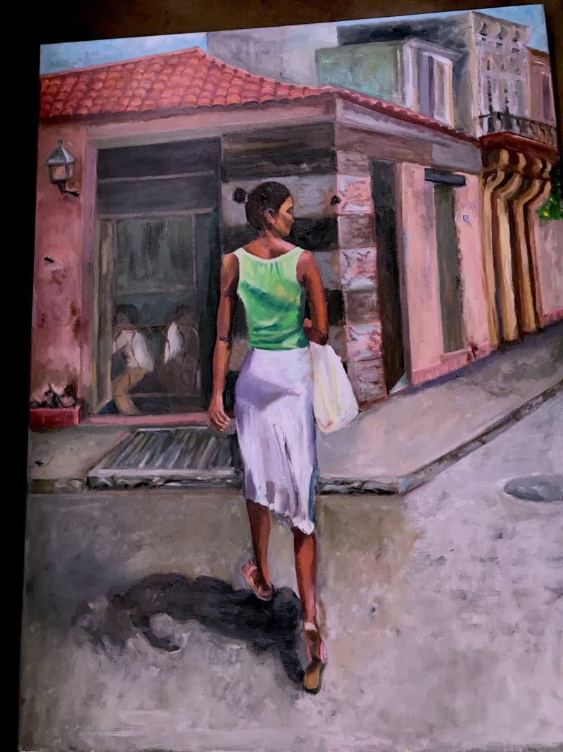 """Cuban Woman,"" by Sharon Marchi"