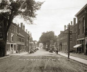 Main Street, Damariscotta (Photo courtesy Damariscotta Historical Society)