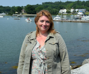 Rebecca Graham is one of three legislative advocates representing municipal officials in 484 towns in the Maine Legislature. She also serves on the Edgecomb Planning Board. (Nate Poole photo)