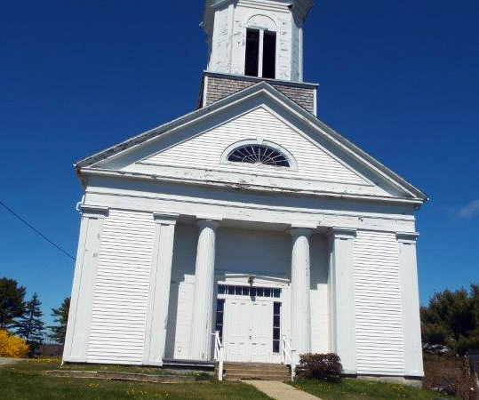 The community is invited to the closing service of Round Pond UMC, the White Church, on Sunday, June 27 at 2 p.m.