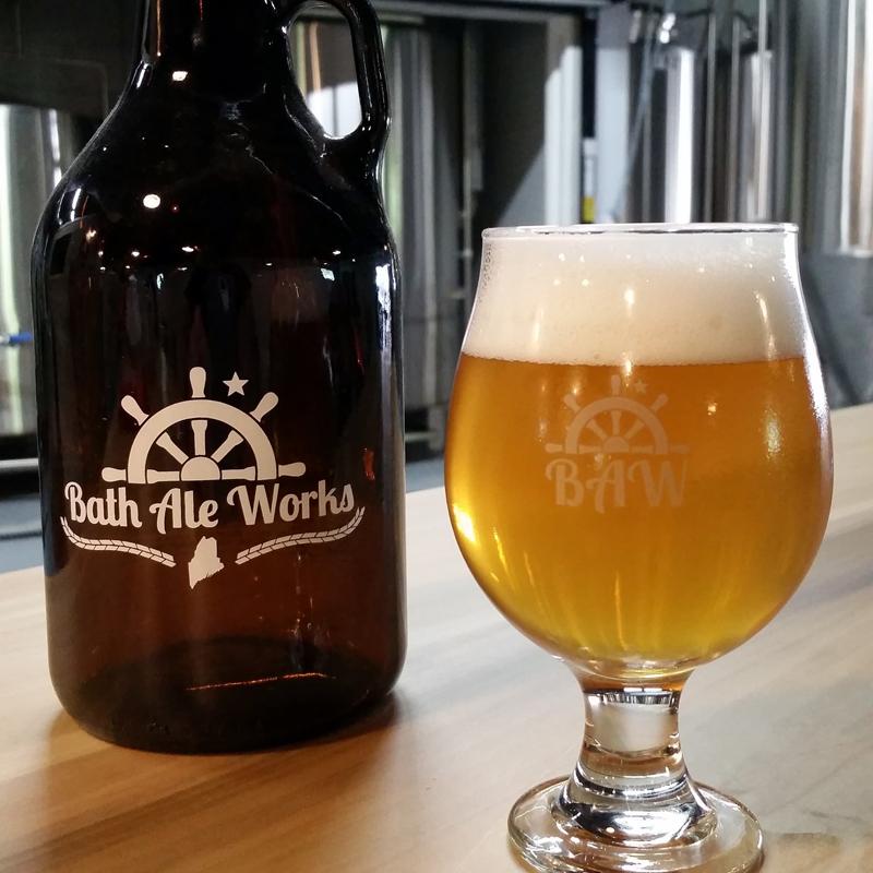 Bath Ale Works' Shakedown Cruise Ale. (Photo courtesy Pepper Powers)