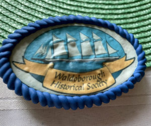 Five Masted Schooner cookie. (Photo courtesy Jean Lawrence)