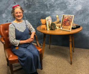 """Marie T. Martin hosts """"Between the Bookends"""" on Lincoln County Television."""