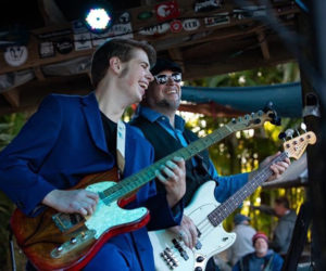 Memphis Lightning puts on a high-energy, rocking roots and blues show. (Photo courtesy Memphis Lightning)