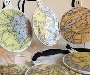 Local artisan Mira Coleman will display her Whimsy ornaments and jewelry during a craft fair at The Second Congregational Church in Newcastle on Saturday, July 10.