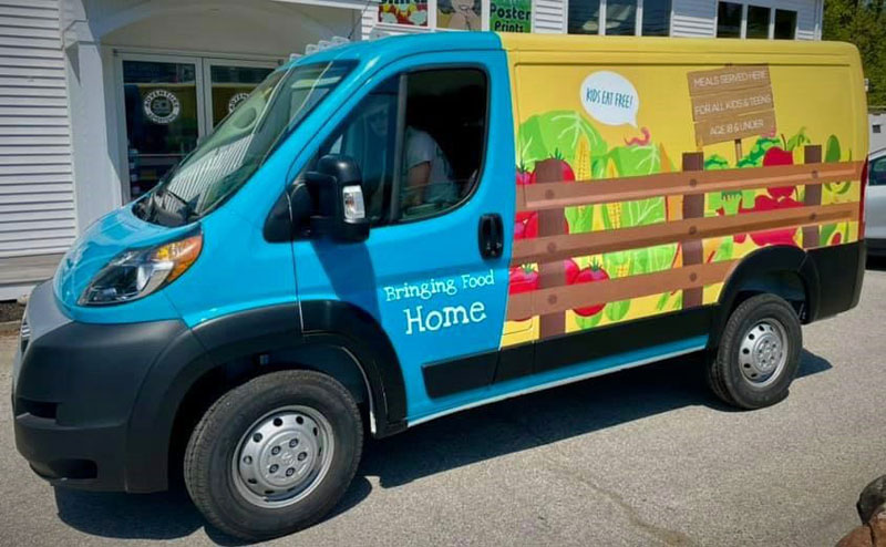Healthy Lincoln County's new van will bring free meals to kids in at least 10 neighborhoods throughout the summer.