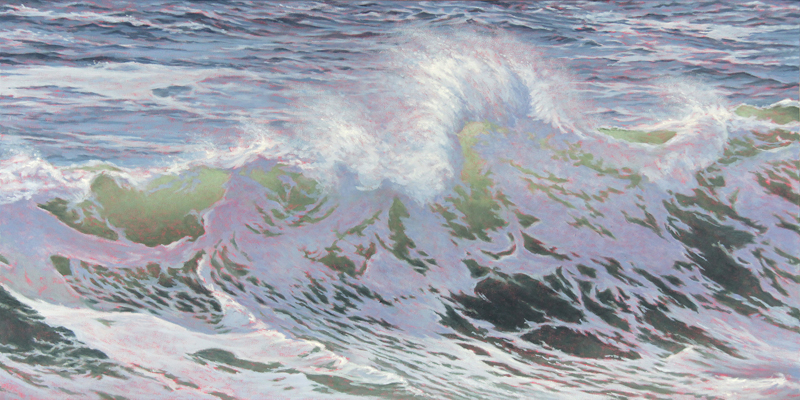"""""""Wave Green IV"""" by Will Kefauver."""