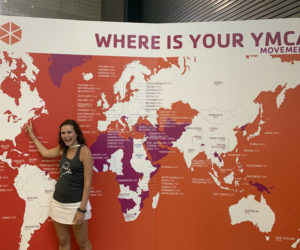 Schuyler Farrell served as a Y Youth Board Member and traveled with the Y to London in 2019.