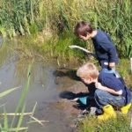 Exploring Wetlands Family Program at Coastal Rivers Salt Bay Farm
