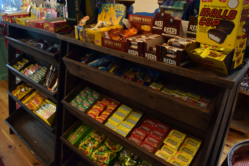 S. Fernald's Country Store in Damariscotta reopened to walk-in traffic on Tuesday, June 22 and is once again offering a vast array of candy, novelty toys, and more. (Evan Houk photo)