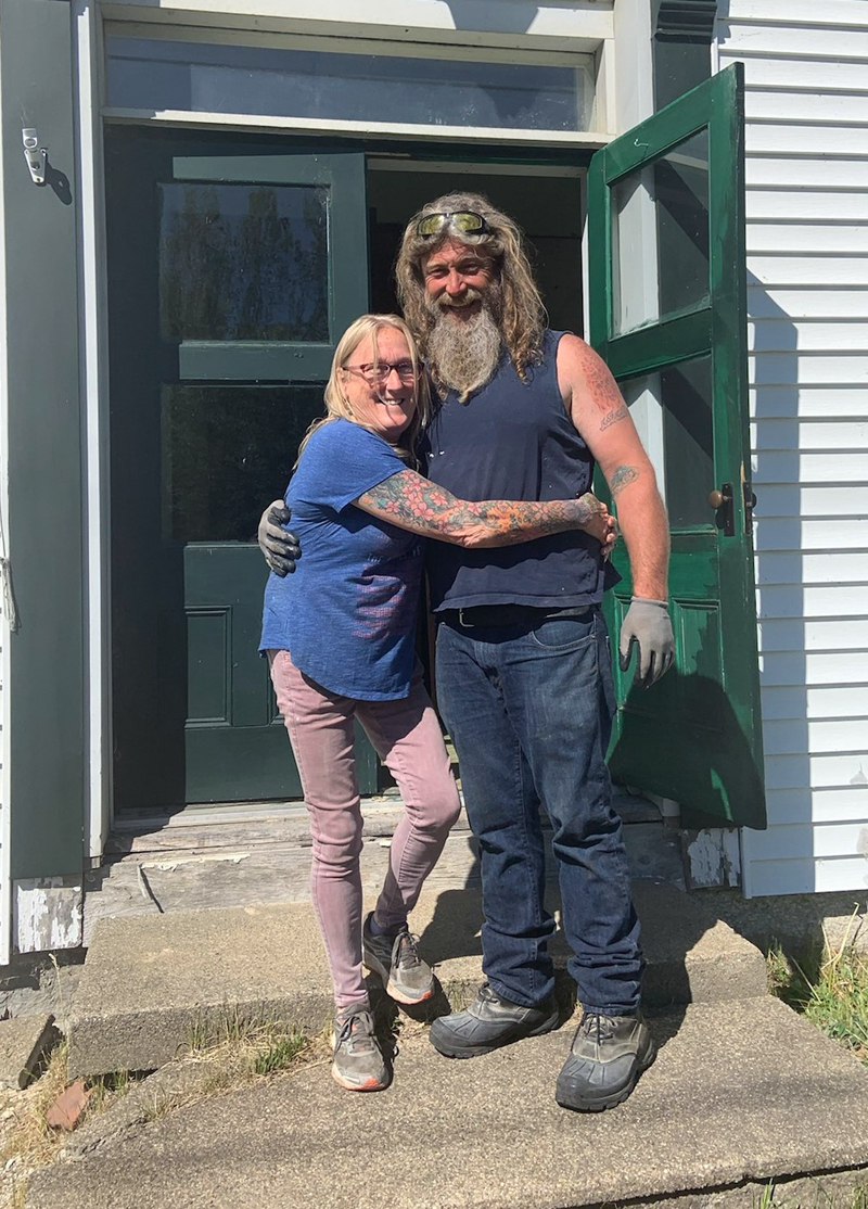 Mason and Kathy Dubord, owners of the Dresden Take Out since 2016, opened their ice cream storefront and collectables business on July 8 after purchasing the property at the end of May. (Photo courtesy Kathy Dubord)