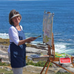 Pemaquid Artists Paint Plein Air July 17
