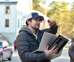"""Lucas McNelly plans to shoot """"Maine Noir,"""" his third feature film, in Waldoboro this September. (Photo courtesy Joe McGurn, RaceME)"""
