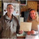 Newcastle Historical Society Scholarship Recipient