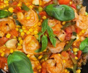 Creole shrimp jambalaya (Photo courtesy I. Winicov Harrington)