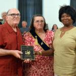 Willow Grange Presents Spirit of America Award to LeBarn Owners