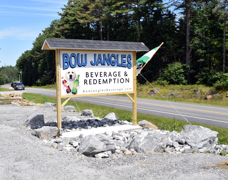 Bow Jangles Beverage and Redemption is now open at 2025 Bristol Road in Pemaquid and offers a wide selection of beer, wine, snacks, and soft drinks. (Evan Houk photo)