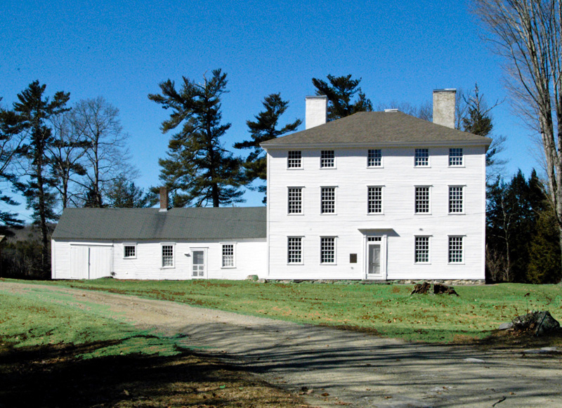 The 1811 Lincoln County Old Jail in Wiscasset.